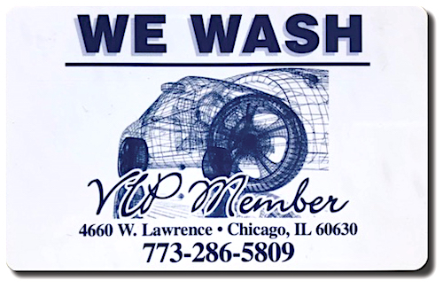 We Wash VIP Car Wash Membership for Lawrence Location Chicago