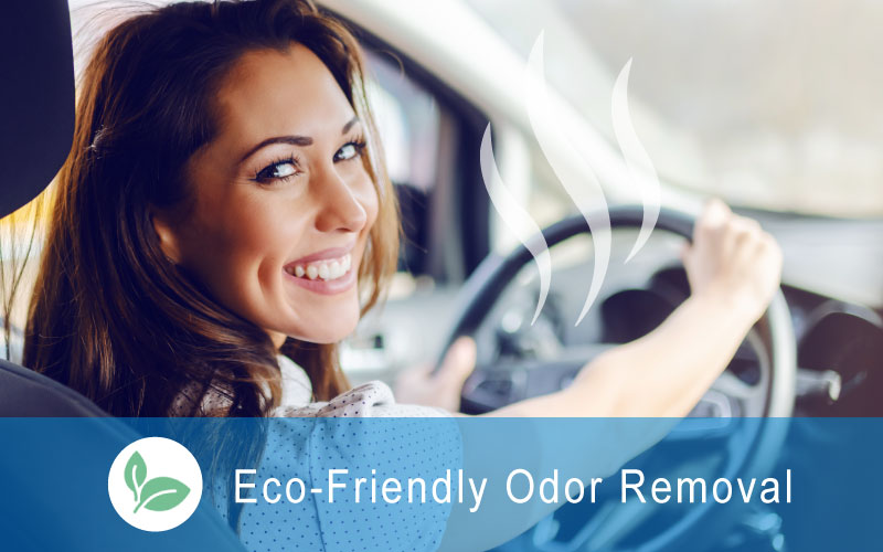 Green Odor Eliminating Service for Cars